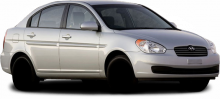 Hyundai Accent (od 06/2006) typ MC a MCT model 06
