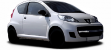 Peugeot 107  typ P facelift 09 3 door