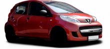 Peugeot 107  typ P facelift 09 5 door