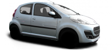 Peugeot 107  typ P facelift 2013 5 door