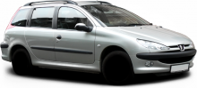 Peugeot 206  typ 2 Break