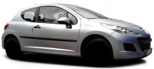Peugeot 207  typ W 3 door facelift 2011