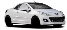 Peugeot 207  typ W model CC facelift
