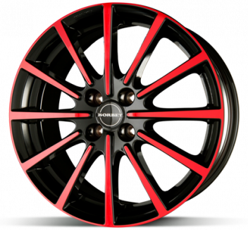 Borbet BL4 Black Red
