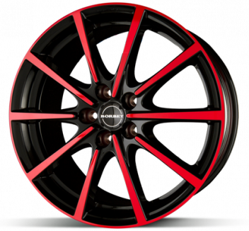 Borbet BL5 Black Red